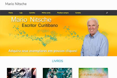 Website Loja Escritor Mario Nitsche