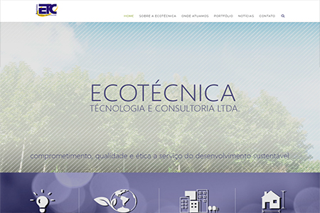 Website Ecotécnica