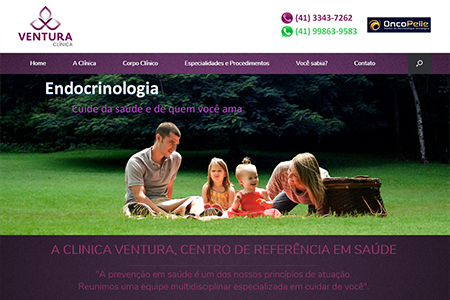 Website Ventura Clínica