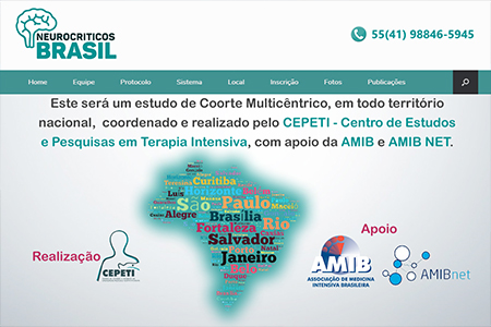 Website Neurocríticos Brasil