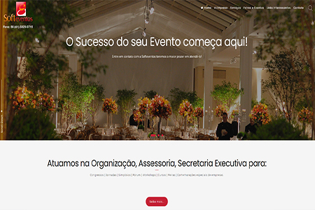 Website Soft Eventos
