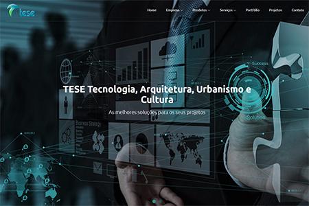 Website TESE Tecnologia